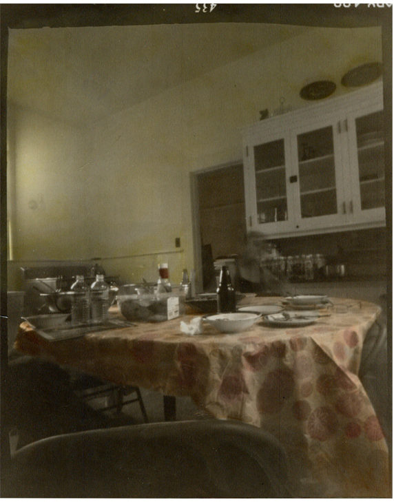 In the Night Kitchen - Hand Colored Silver Gelatin Photography by Gwen Arkin