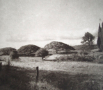 The Standing of Time - Photogravure Photography by Gwen Arkin